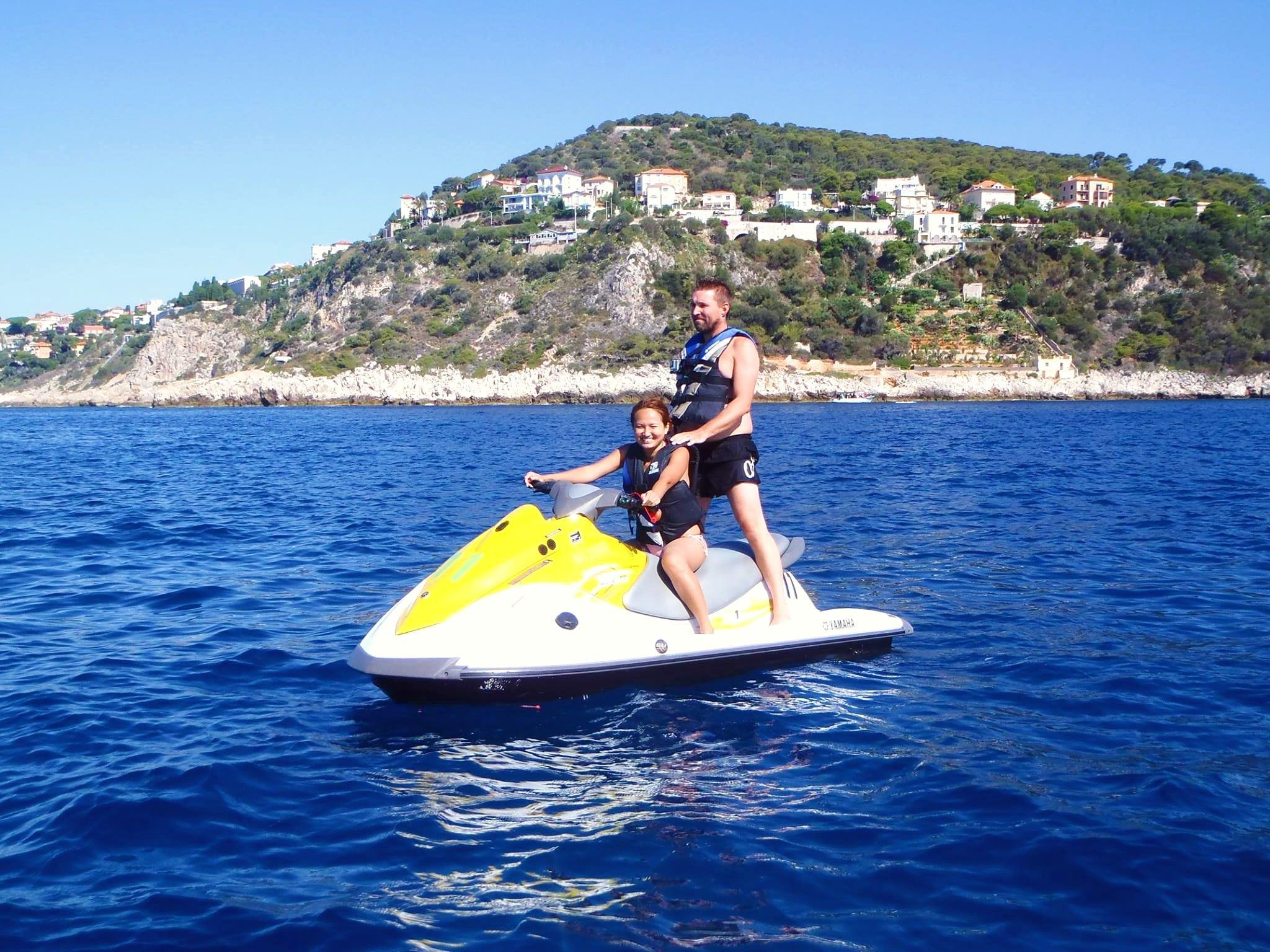 Jet Ski Safari near Antibes