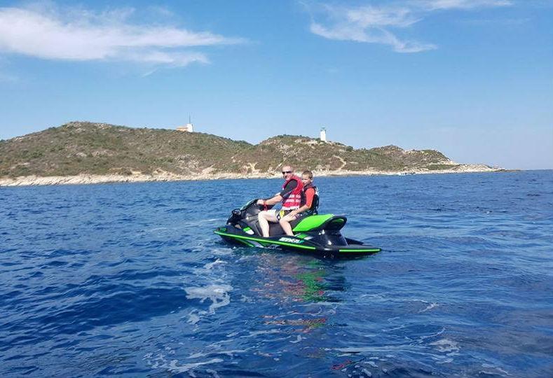 Jet Ski Hire with Instructor for Kids - Saint-Florent