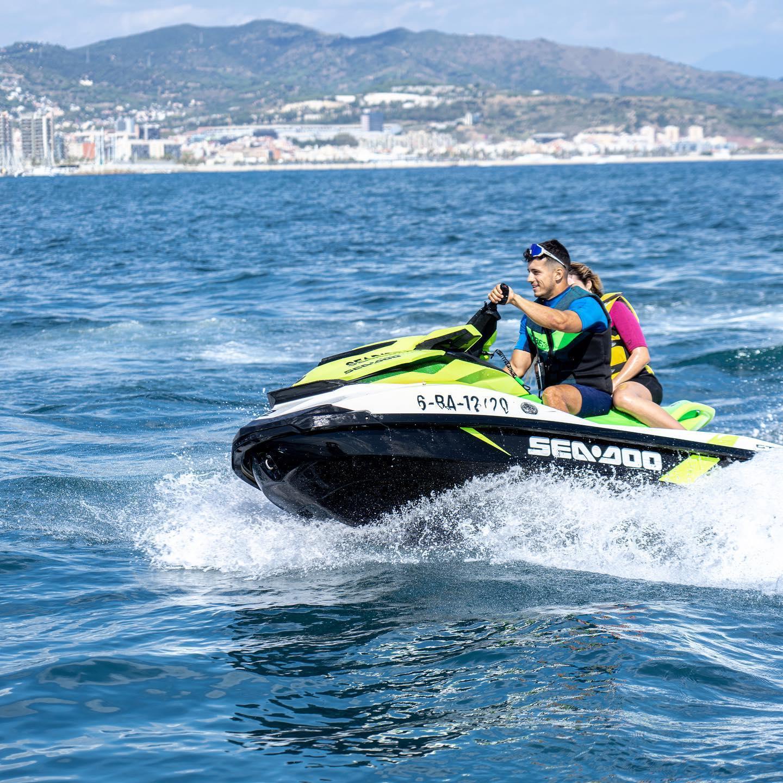 Jet Ski Tour in Barcelona Bay