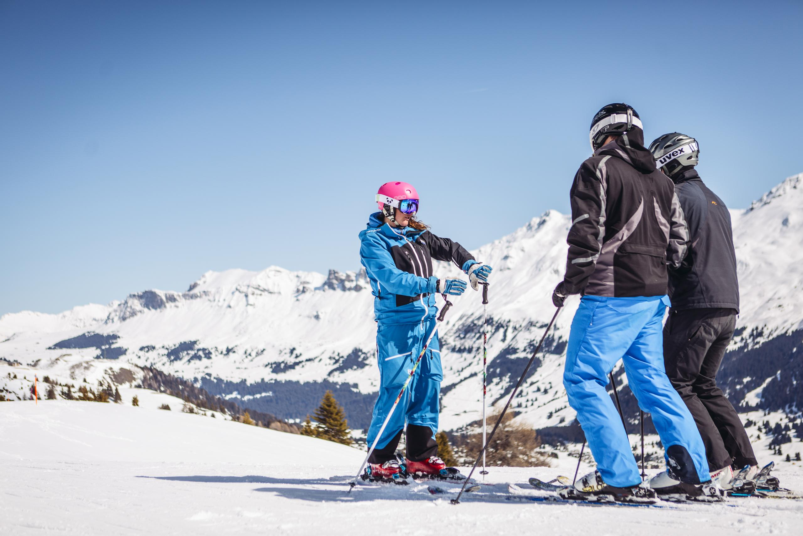 Skilessen voor volwassenen vanaf 18 jaar - gevorderd