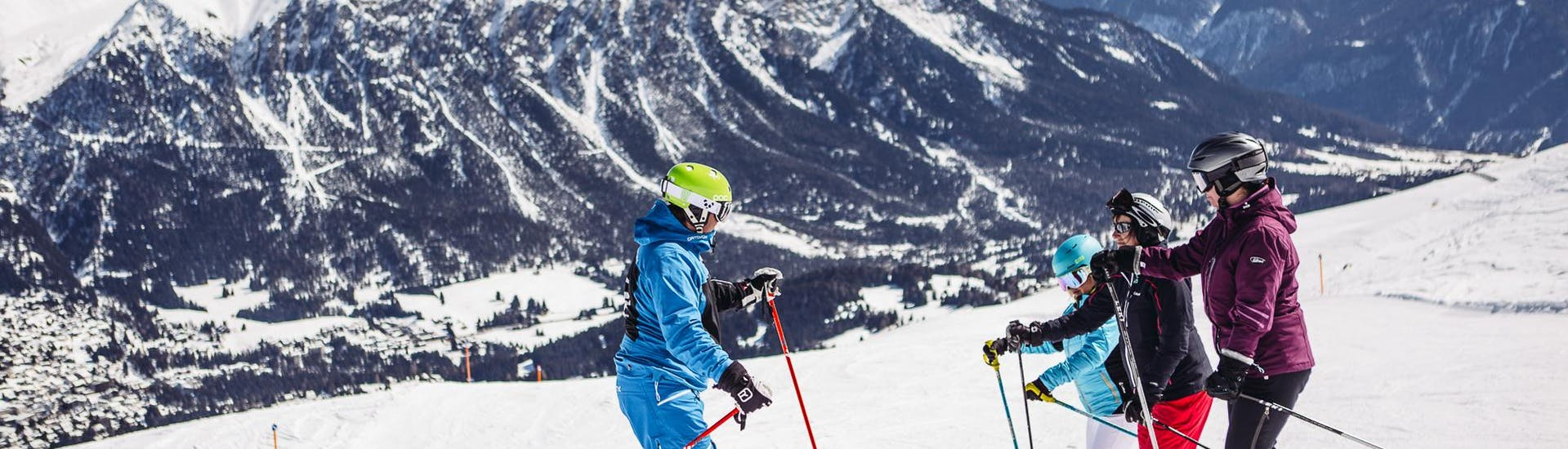 Privater Skikurs für Gruppen aller Levels