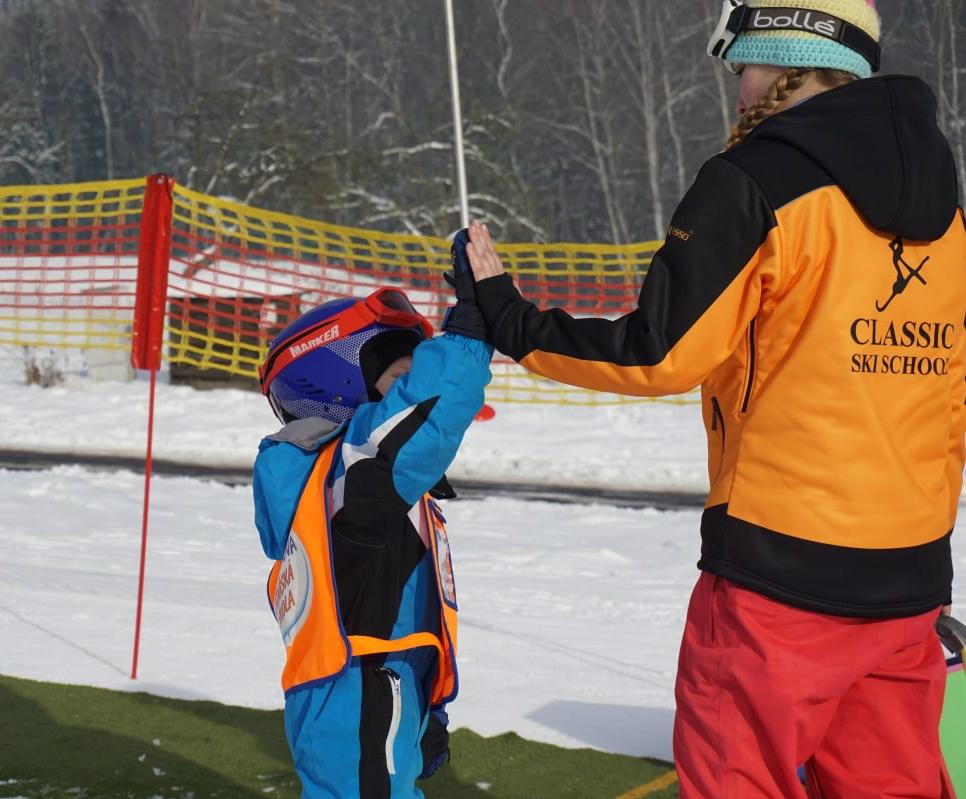 Skilessen voor kinderen - vergevorderd