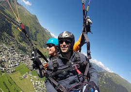 Tandem Paragliding with a Private Pilot in Davos