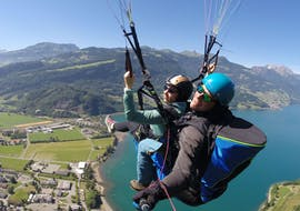 Tandem Paragliding  with a Private Pilot at Walensee