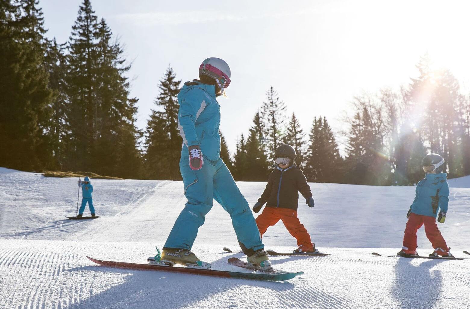 Cours de ski  Enfants (7-12 ans) - Basse saison
