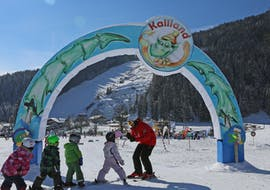 Kinder-Skikurs (6-12 J.) für Anfänger