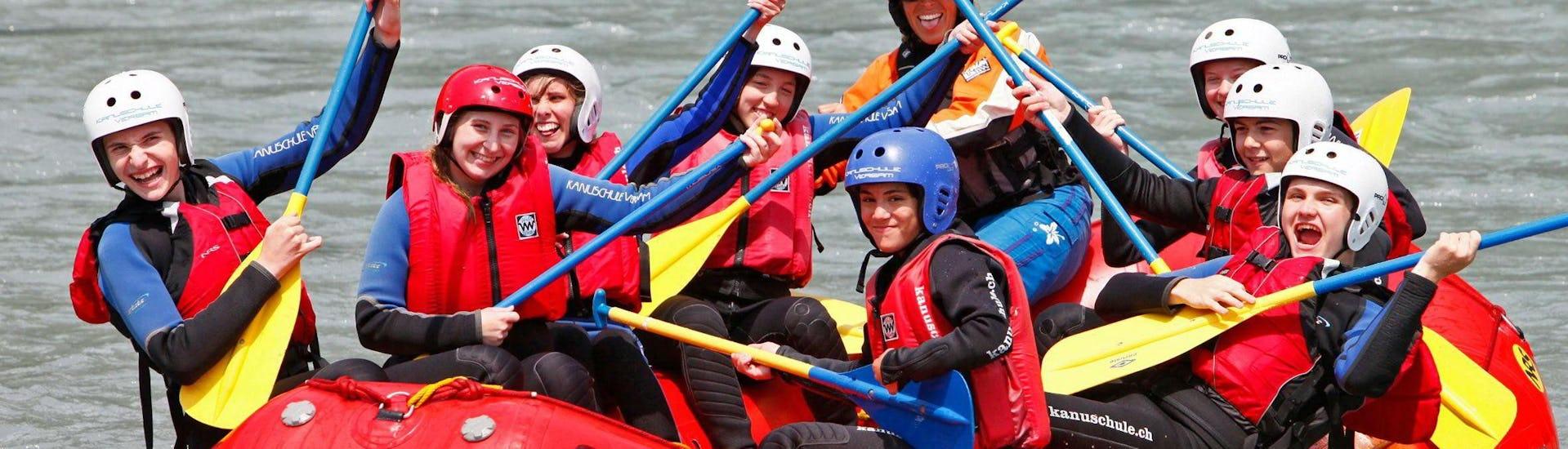 Rafting for Beginners - Vorderrhein