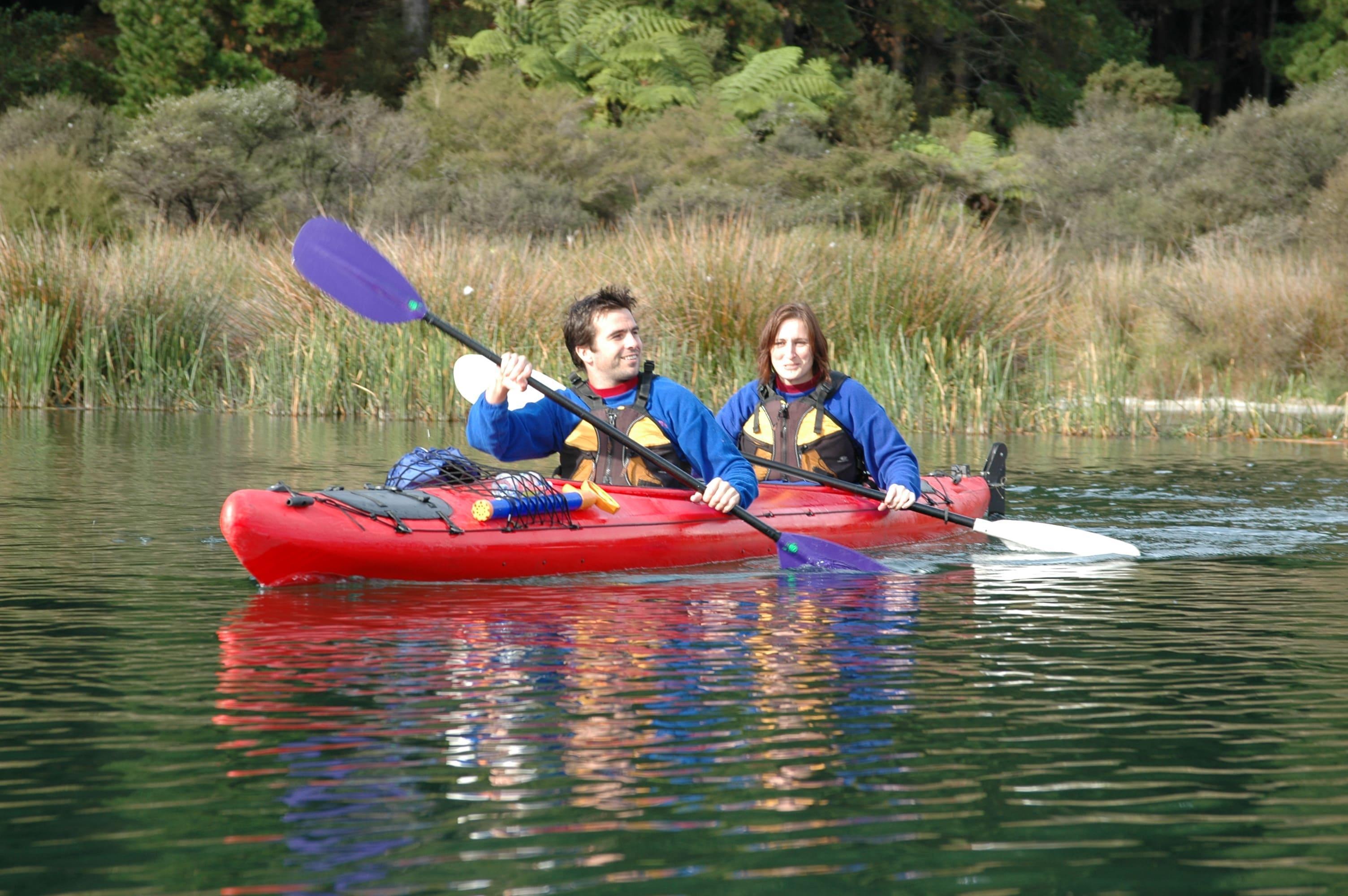 "Kayak Rotorua ""Guided Hot Pools"" - Winter - Lake Rotoiti"