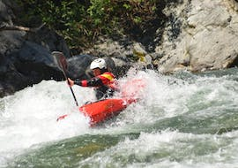 Kayak Tour on the Sesia for Experienced Beginners