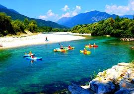 Kayak y piragua avanzado en Kobarid - Soča con Soča Flow Kobarid