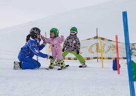 """Kids Ski Lessons """"Bambini"""" (3 y.) for First Timers with Tiroler Skischule Lermoos Pepi Pechtl"""