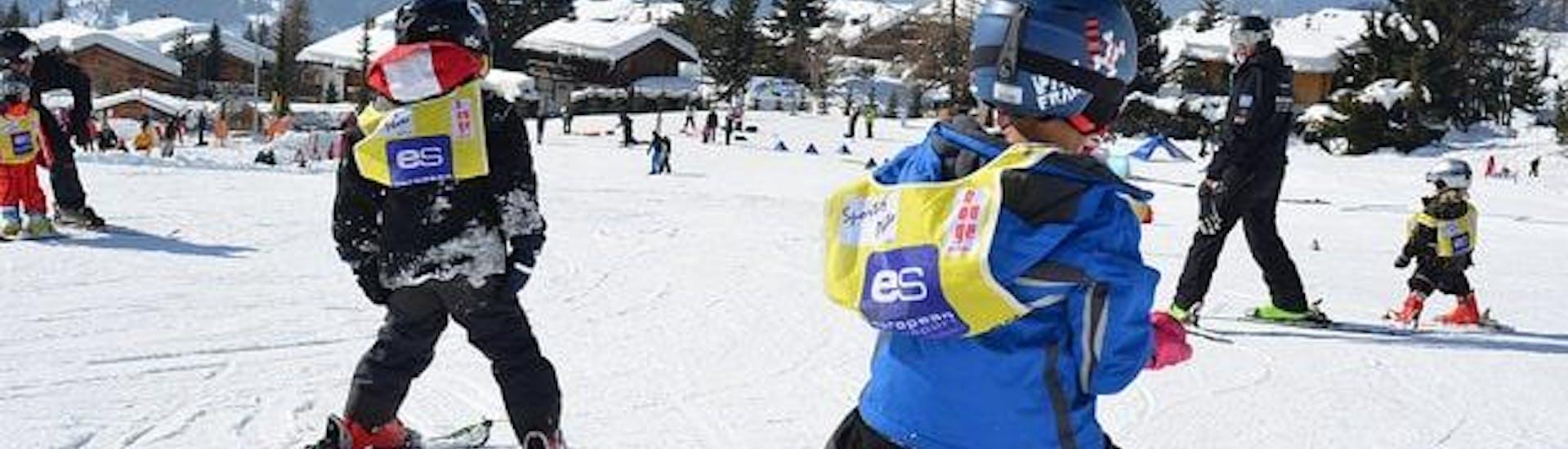 Skilessen voor kinderen vanaf 6 jaar - vergevorderd met European Snowsport Verbier - Hero image