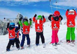 Cours de ski Enfants dès 4 ans pour Tous niveaux avec Scuola di Sci e Snowboard Dolomites San Cassiano