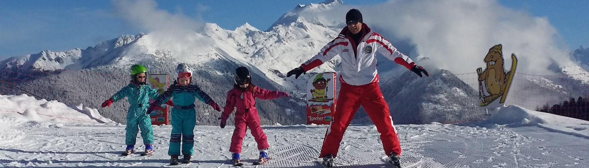 Skilessen voor kinderen vanaf 1 jaar - beginners