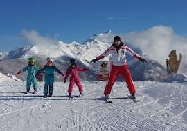 Skilessen voor kinderen vanaf 2 jaar - beginners met Ski School Speikboden Ahrntal