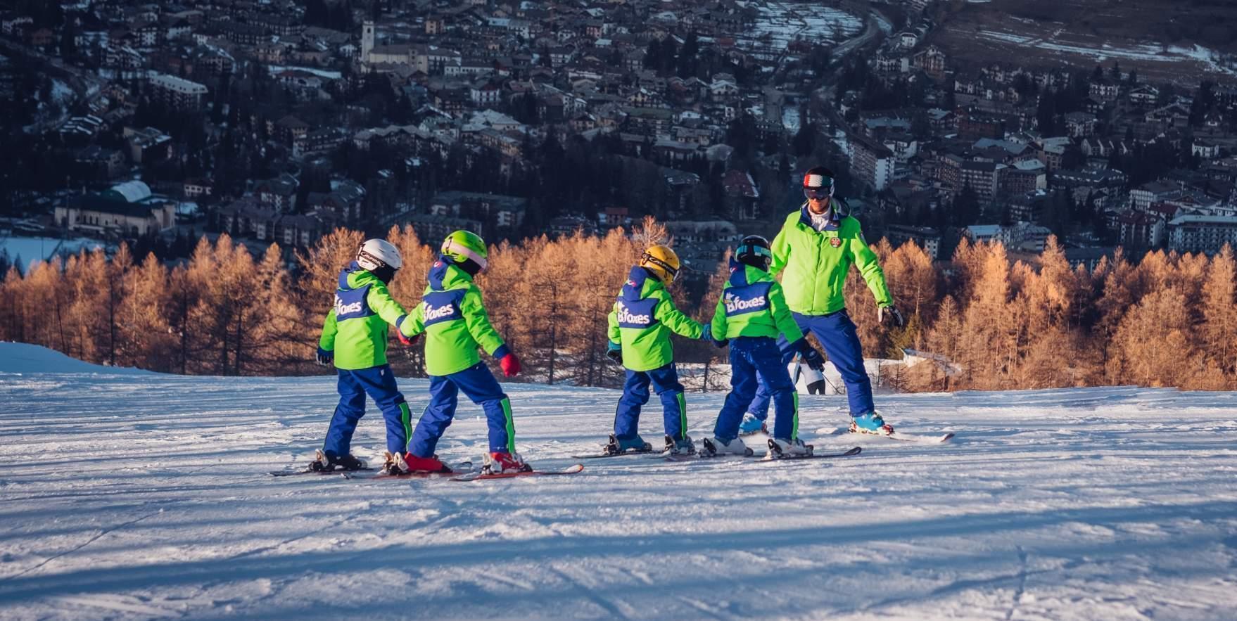Cours de ski Enfants (4-12 ans) pour tous niveaux