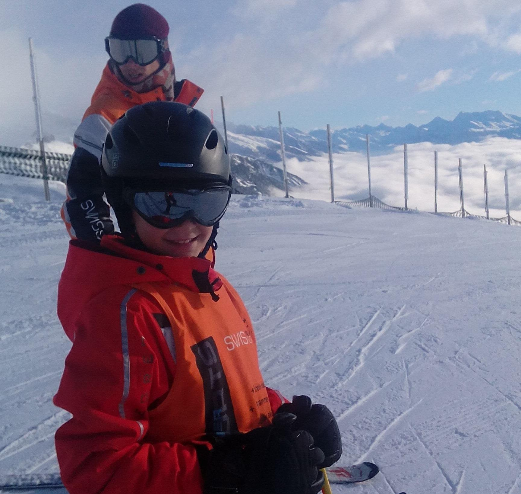 Cours de ski Ados (12-15 ans) - Max 5 - Crans