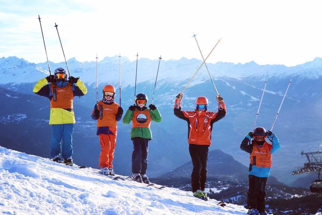 Cours de ski Ados (12-15 ans) - Max 5 - Montana