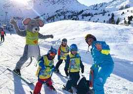 Skilessen voor kinderen vanaf 2 jaar - beginners met ESI Arc en Ciel Nendaz-Siviez