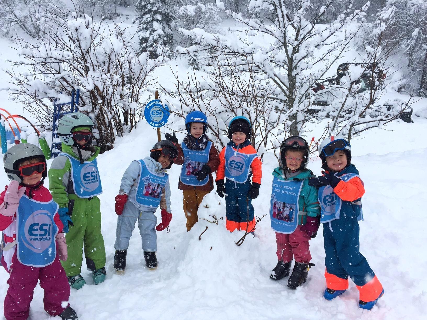 Cours de ski pour Enfants (3-11 ans) - Vacances - Matin