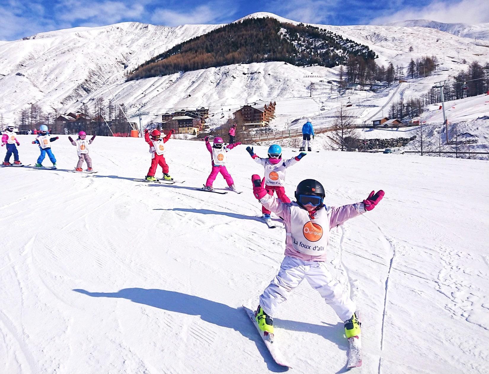 Premier Cours de ski Enfants (3-12 ans) - Février