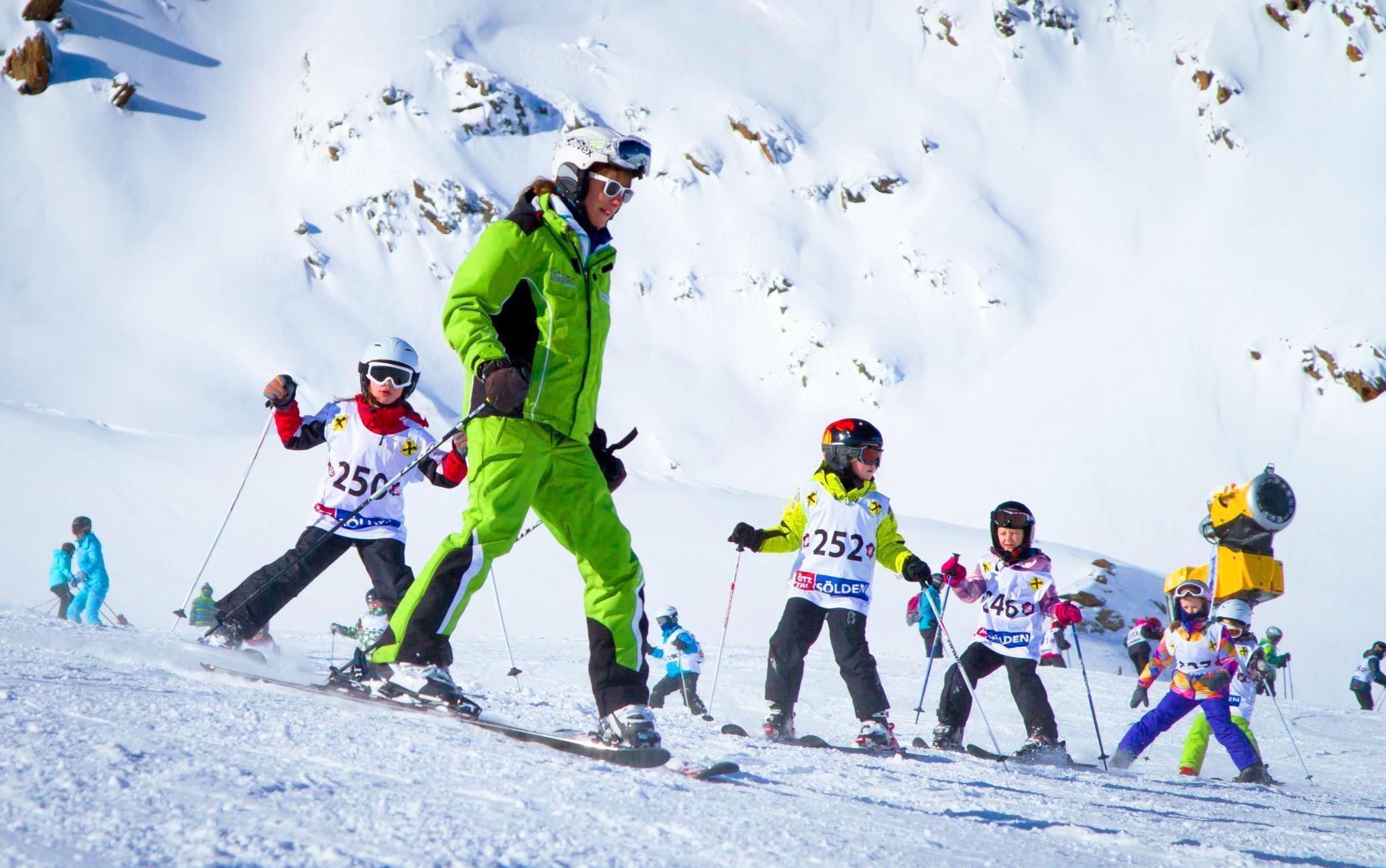 Skilessen voor kinderen (3-14 jaar) van alle niveaus