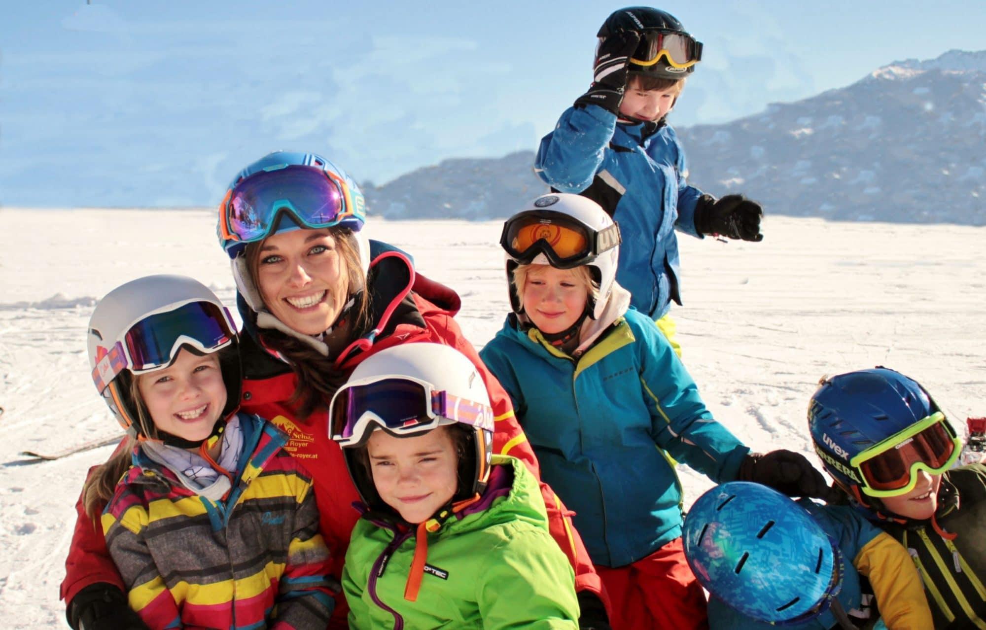 Skilessen voor kinderen vanaf 3 jaar - ervaren