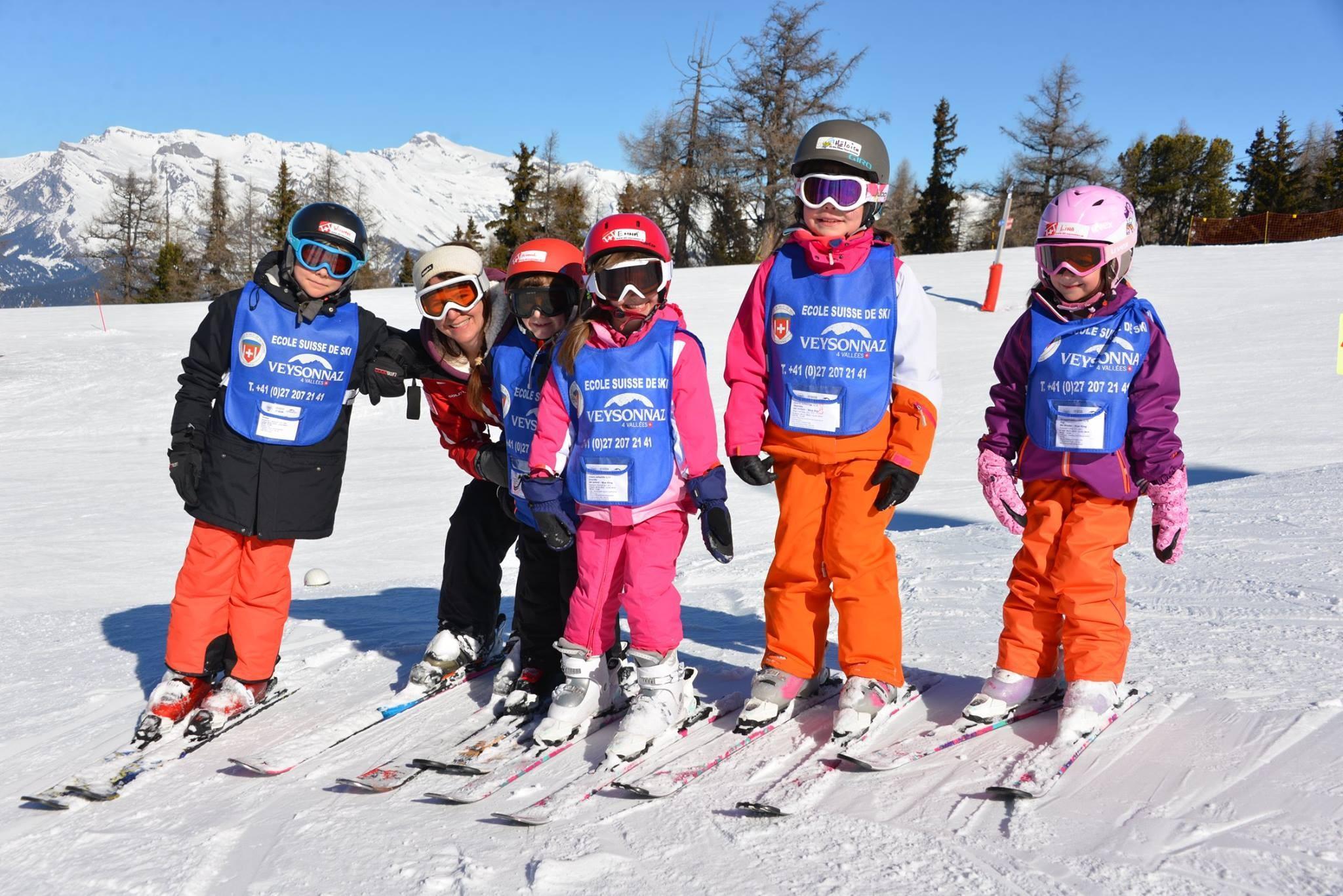 Cours de ski Enfants (3-15 ans) pour Tous niveaux - Mercredi