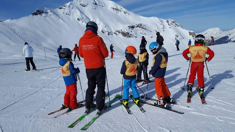 Cours de ski Enfants (3-16 ans) pour Tous niveaux
