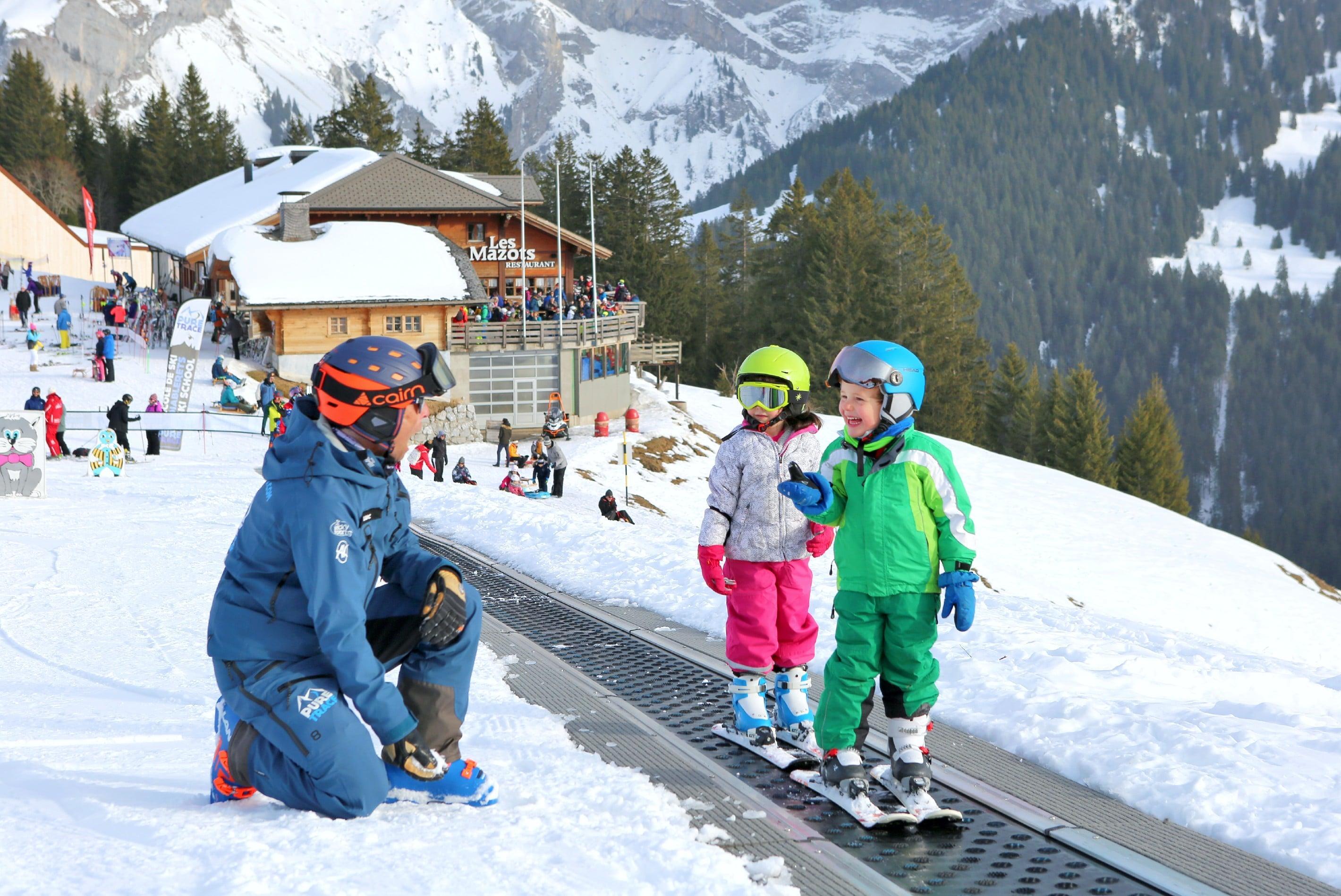 """Cours de ski Enfants """"Jardin des Neiges"""" (3-4 ans)"""