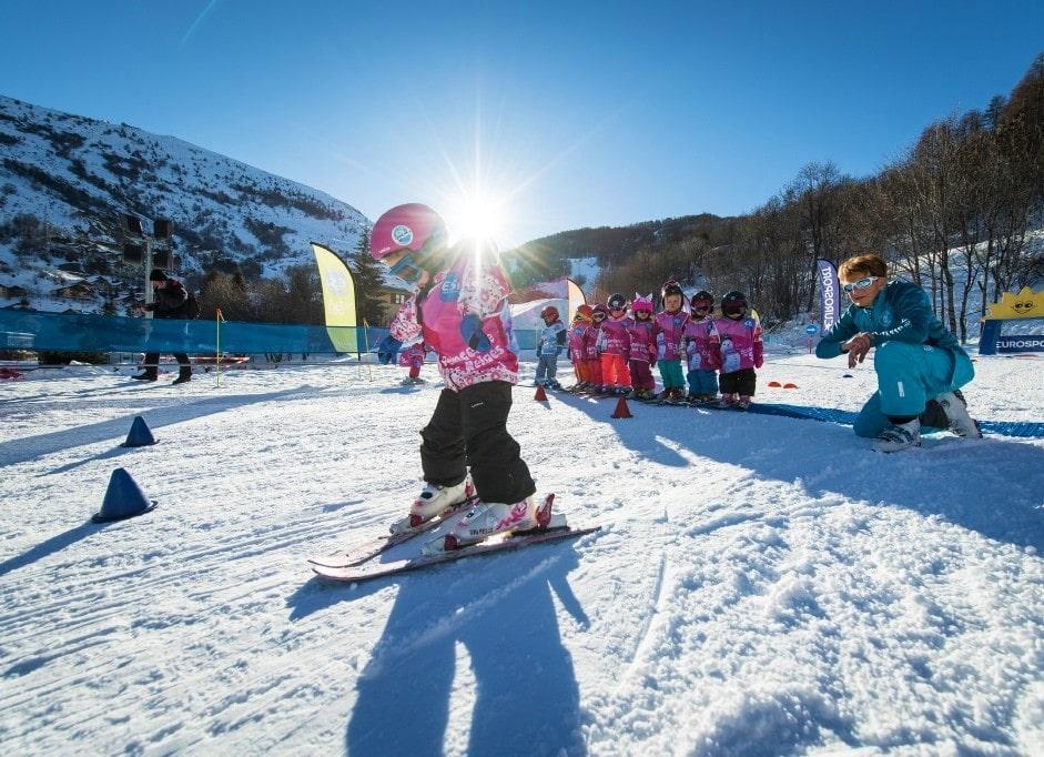 Skilessen voor kinderen vanaf 3 jaar - beginners