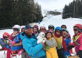 Cours de ski Enfants (3-4 ans) - Vacances - Matin - Arc 1800