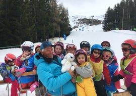 Kids Ski Lessons (3-4 years) - Holiday - Morning - Arc 1800