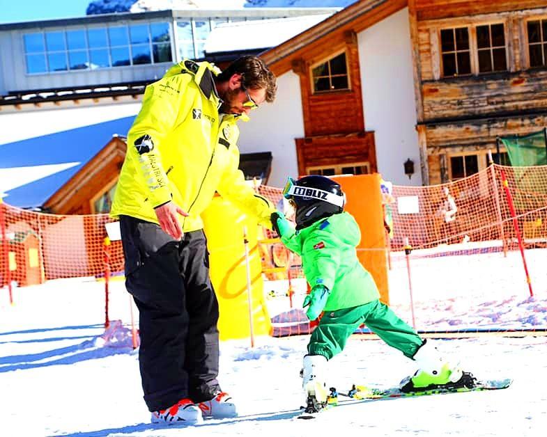 Lezioni di sci per bambini (3-5 anni) per principianti