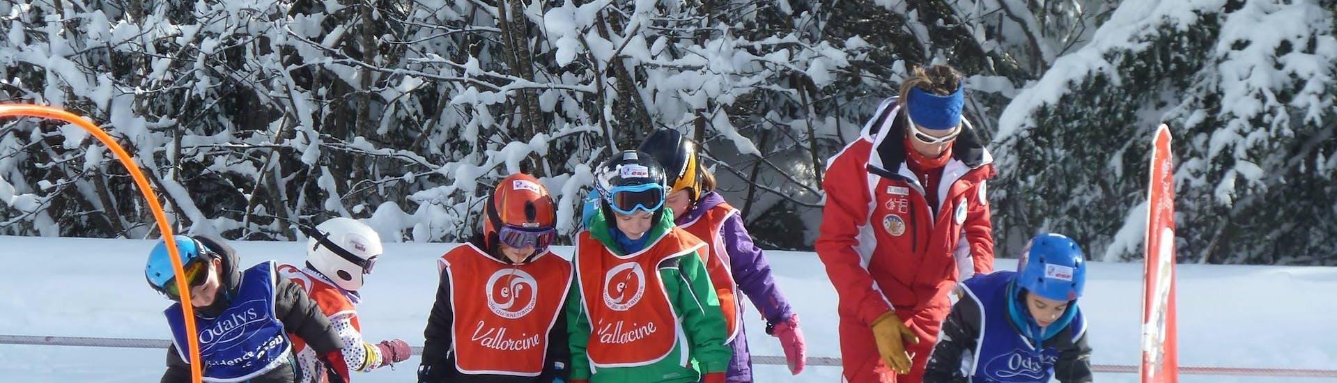 Kids Ski Lessons (3-8 y.) in Vallorcine/La Poya
