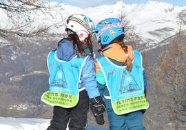 Skilessen voor kinderen vanaf 3 jaar - licht gevorderd met Scuola Italiana Sci Azzurra Folgarida