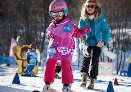 Clases de esquí para niños (3-4 años) - Vacaciones - Tarde