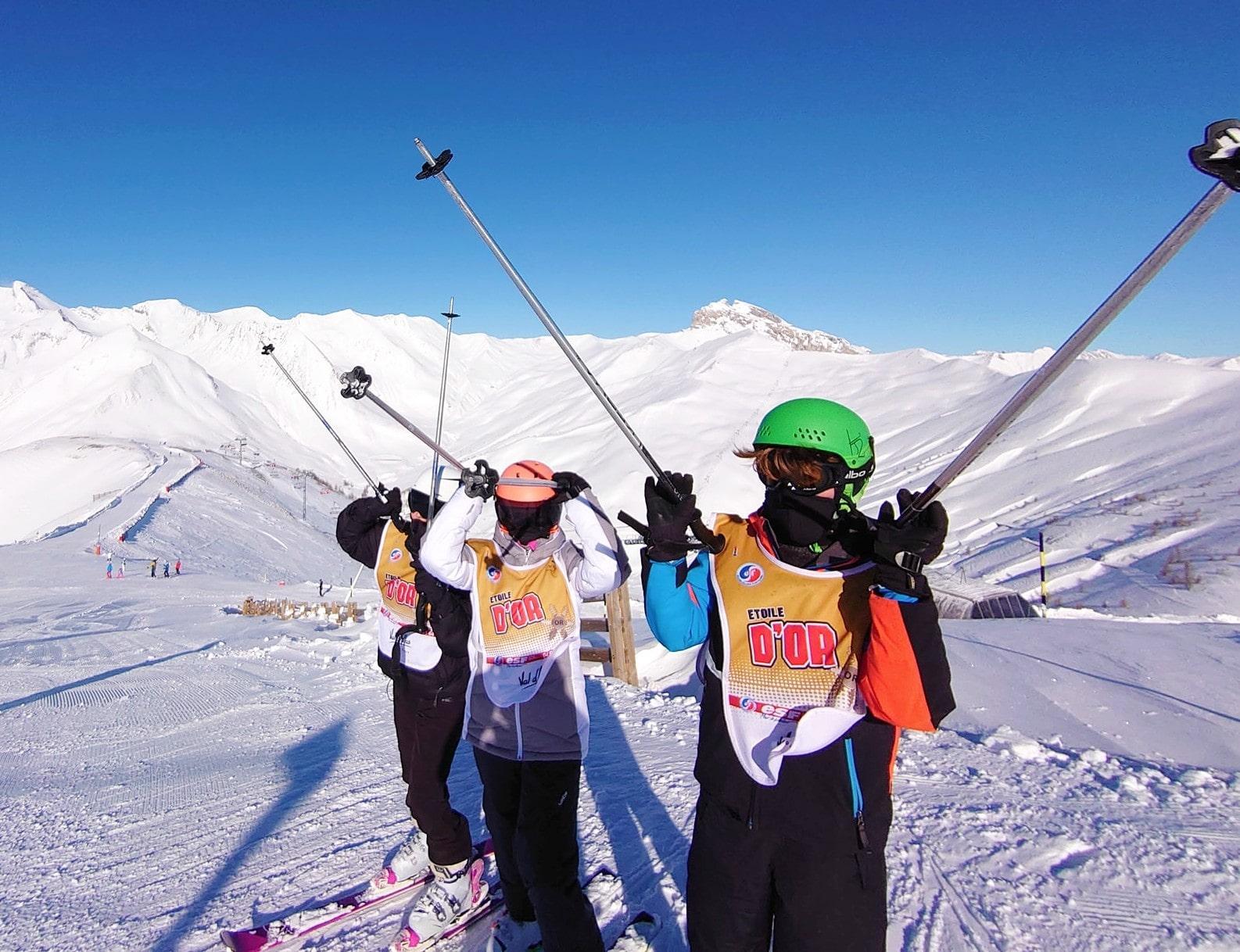 Cours de ski Enfants (4-12 ans)
