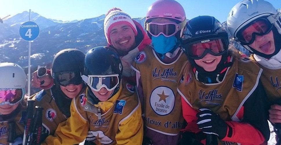 Cours de ski Enfants (4-12 ans) - Février