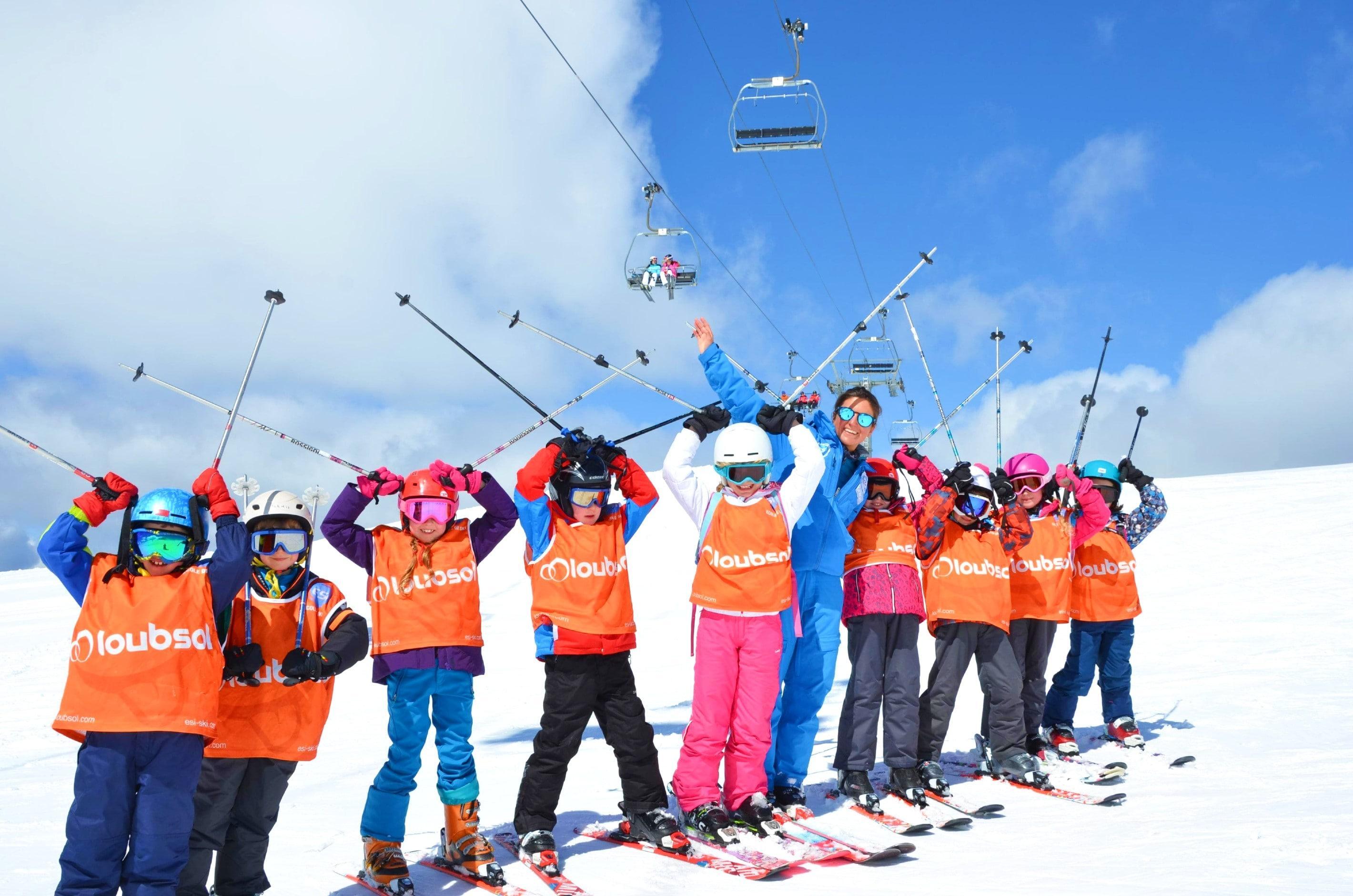 Cours de ski Enfants (4-12 ans) - Après-midi