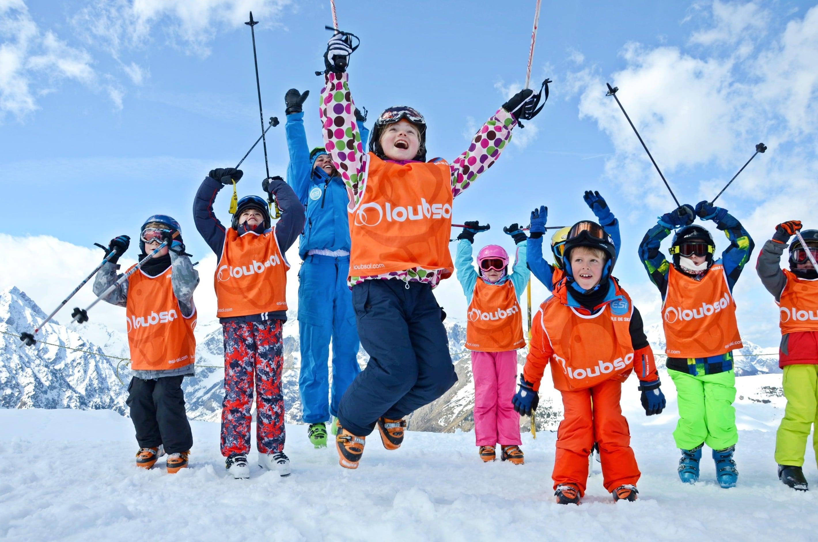 Cours de ski Enfants (4-12 ans) - Haute saison