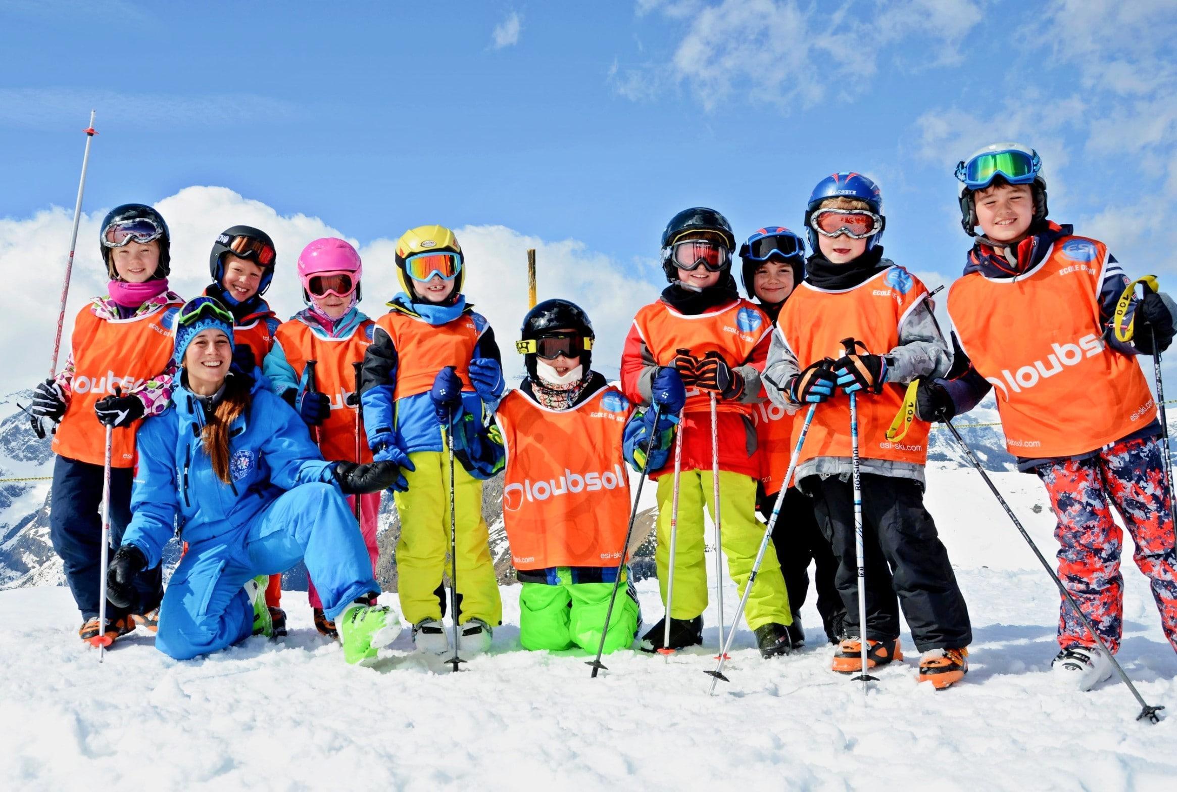 Cours de ski Enfants (4-12 ans) - Basse saison