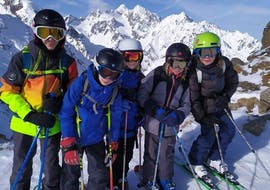 Kids Ski Lessons (4-12 y.) - February - Noon