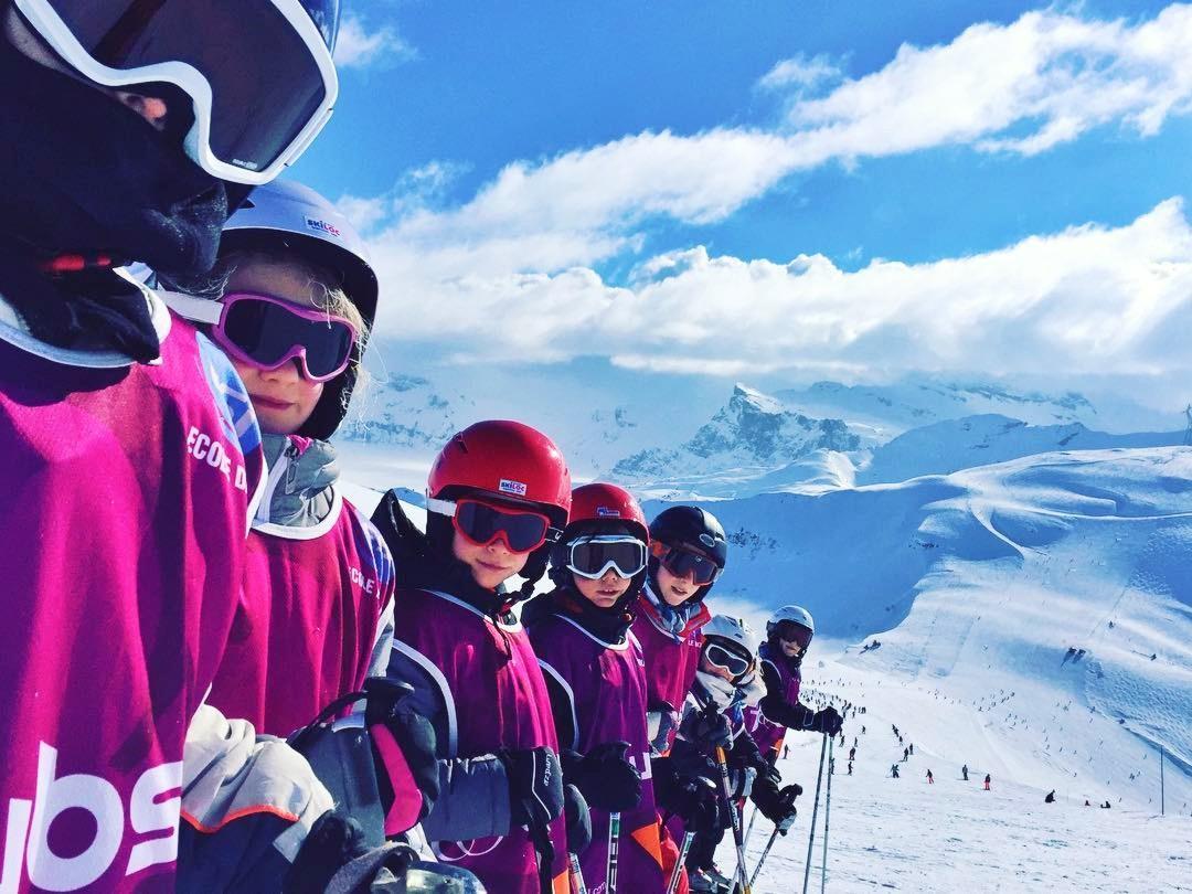 Skilessen voor kinderen vanaf 4 jaar - ervaren