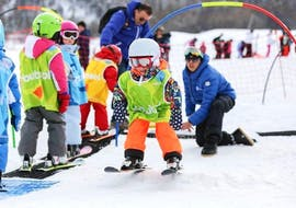 Kids Ski Lessons (4-13 y.) - Morning