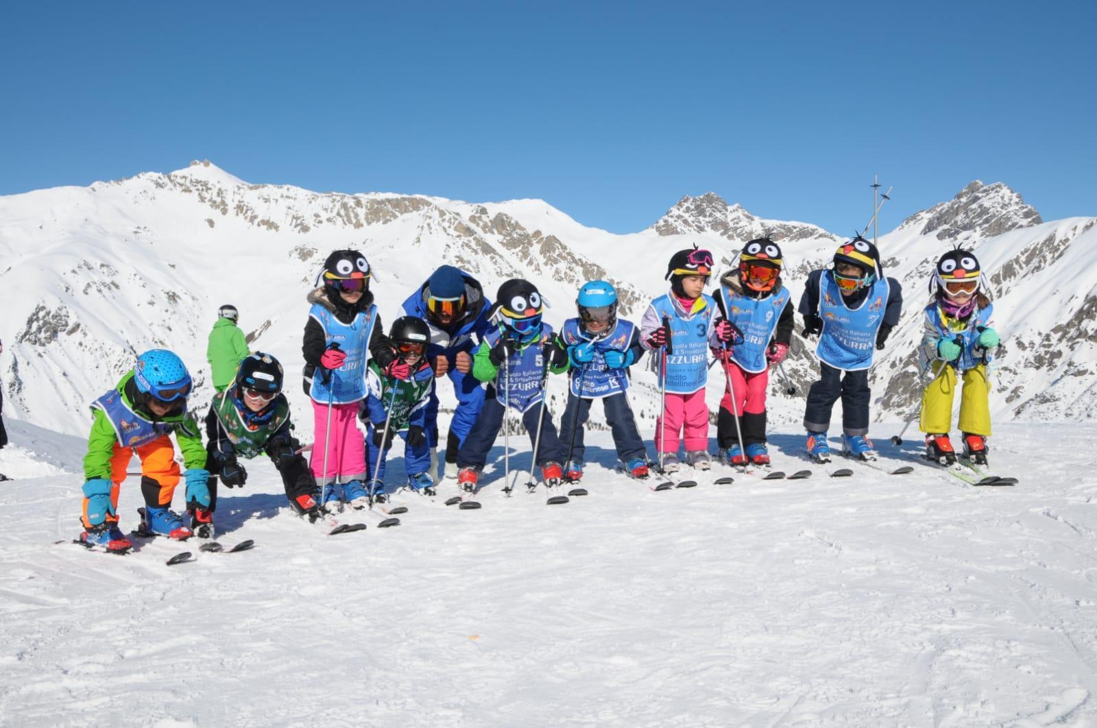 Cours de ski Enfants dès 4 ans pour Tous niveaux