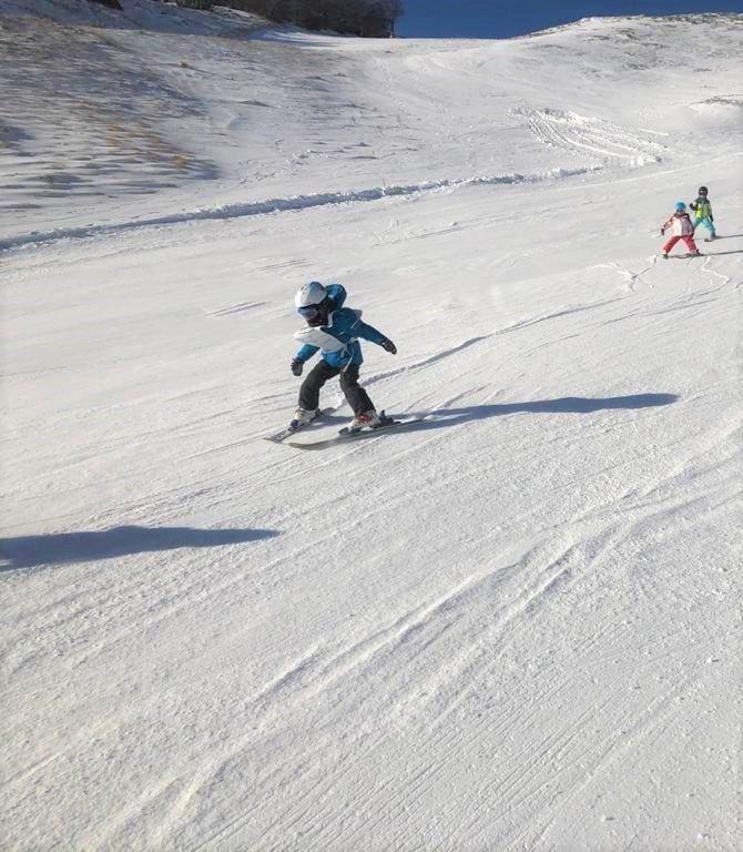 Clases de esquí para niños a partir de 4 años para avanzados