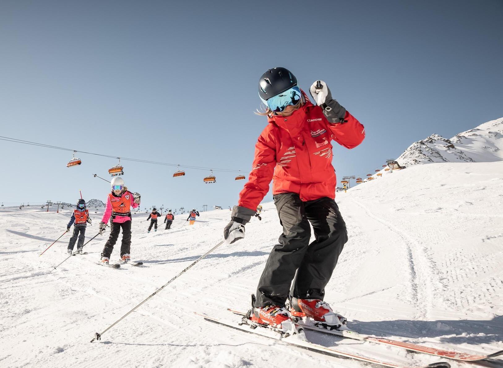 Skilessen voor kinderen (4-15 jaar) voor Alle niveaus