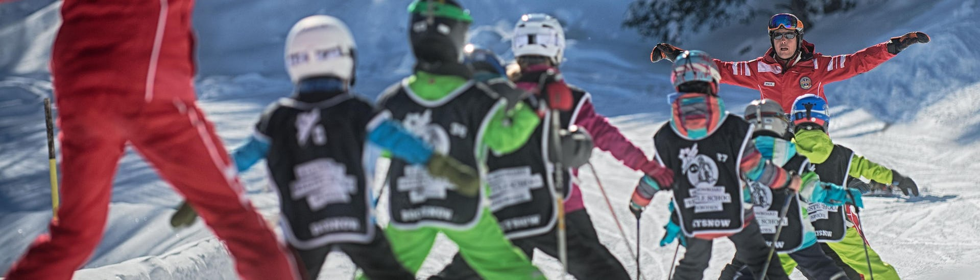 Kids Ski Lessons (4-15 y.) - All Levels