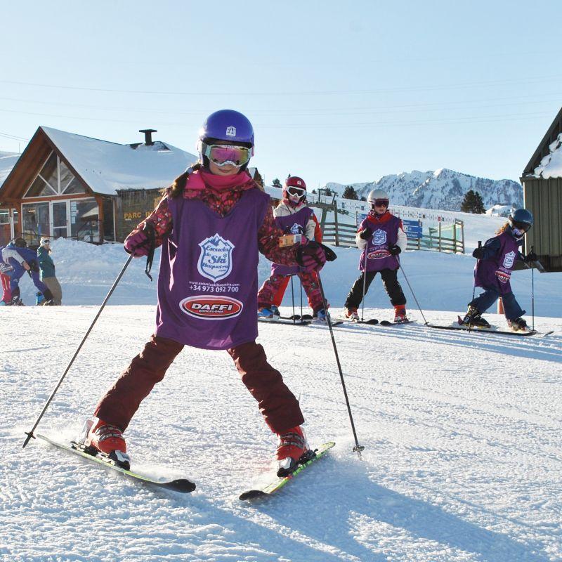 Clases Particulares de Esquí para Niños en Temporada Alta
